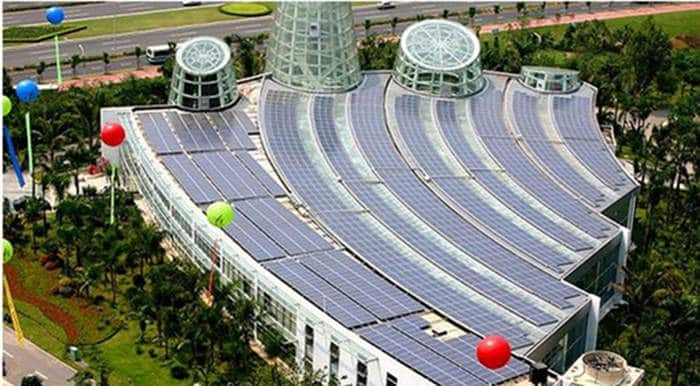 Solar Case - Shenzhen International Garden and Flower Expo Park Photovoltaic Rooftop