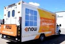 eNow Solar Refrigerated Truck - Cool For 12 Hours