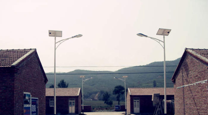Photovoltaic lighting in rural areas
