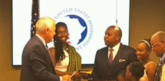 C.D. Glin - the New President of the U.S. African Development Foundation