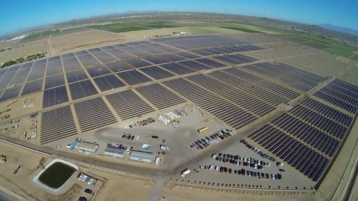 Apple's 50WMs Solar Farm in Arizona
