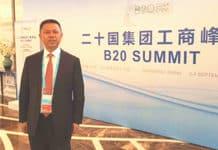 Gao Jifan at the B20 Summit