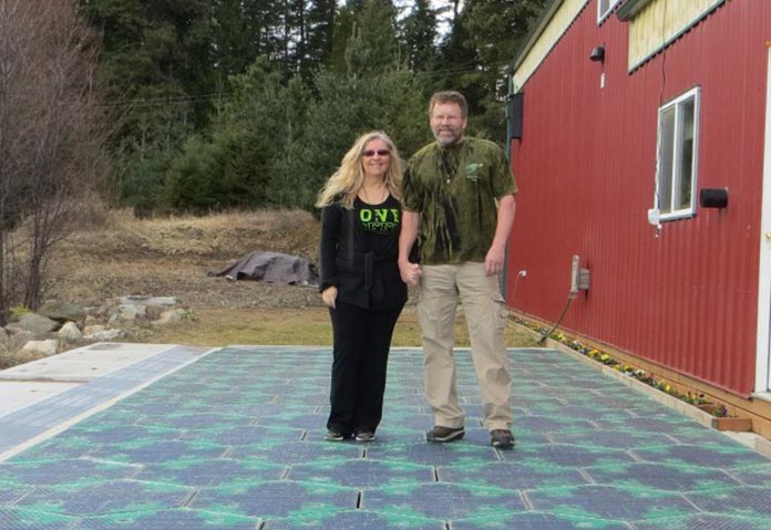 Co-inventors of the Solar Roadways