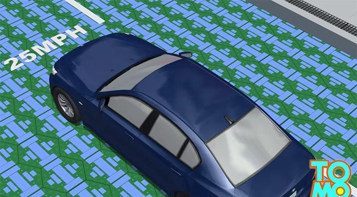 Solar Smart Road: Charge Your Vehicle