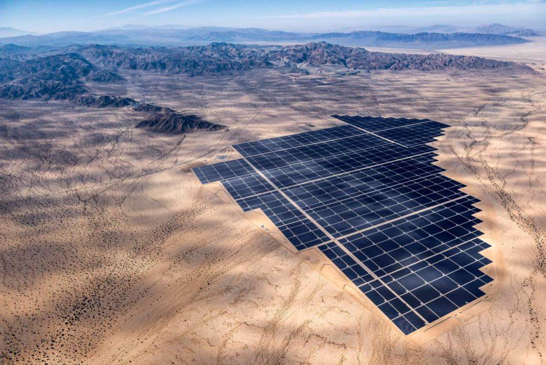 Desert Sunlight Solar Power Plant in Riverside County