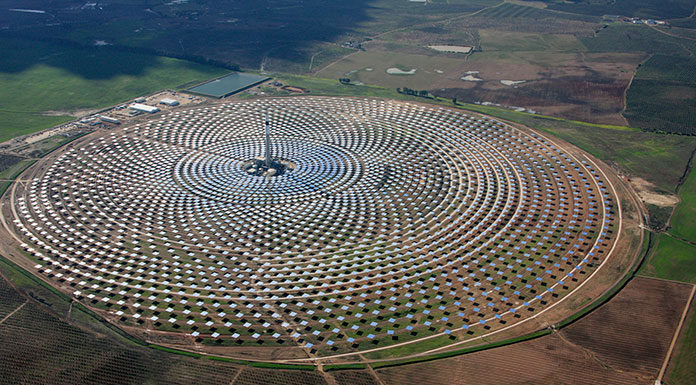 Gemasolar Solar Thermal Power Plant, Spain by flickr@beyondcoalandgas