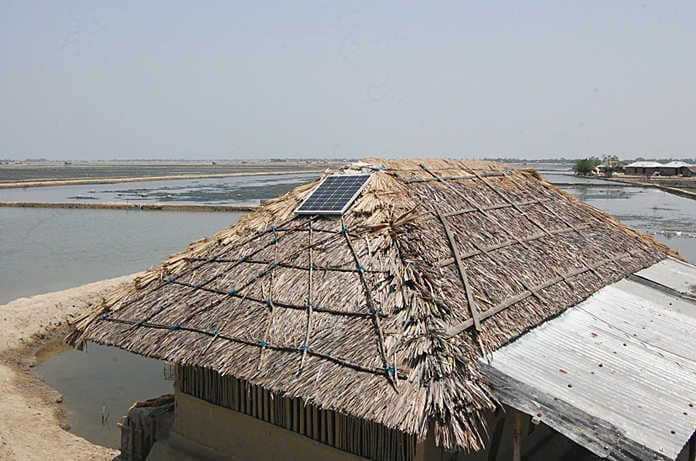 Solar Panels Installed in Bangladesh