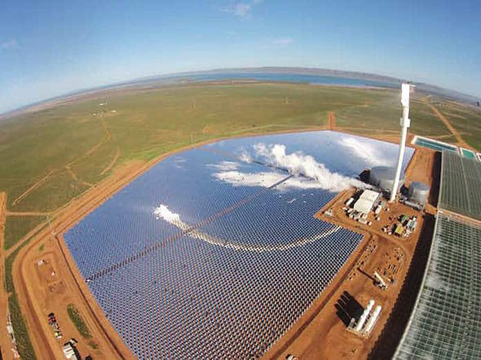 Sundrop Solar Desalination Farm in Port Augusta