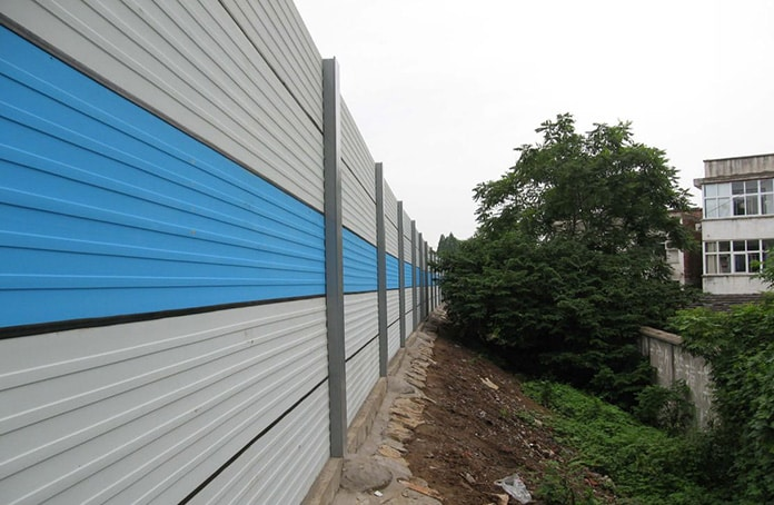 Photovoltaic Panels and Expressway Sound Barriers