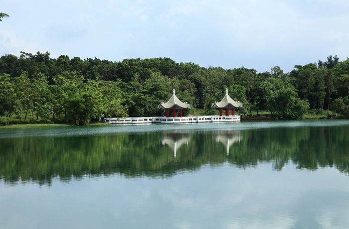 Chengcing Lake in Kaohsiung