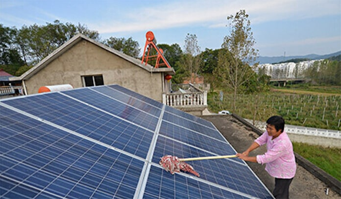 Peasants lack scientific knowledge of photovoltaic maintenance
