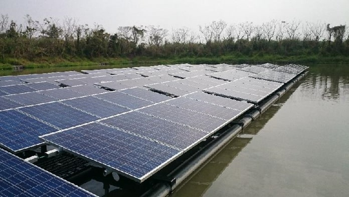 Floating Solar Farm in Pingtung County