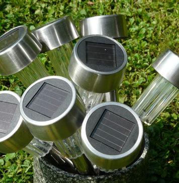 Solar Lights for the Garden
