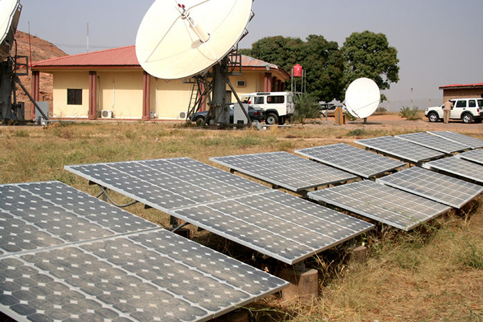 Solar-Powered Data Centre in Dutse