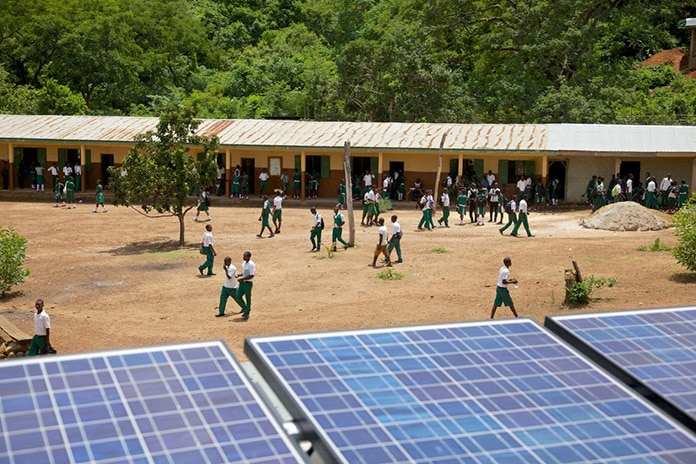 Solar Helping to Bring Power to Africa Schools
