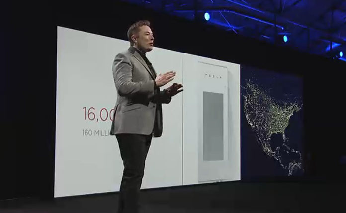 Tesla's CEO Introduces the World to the Powerpack