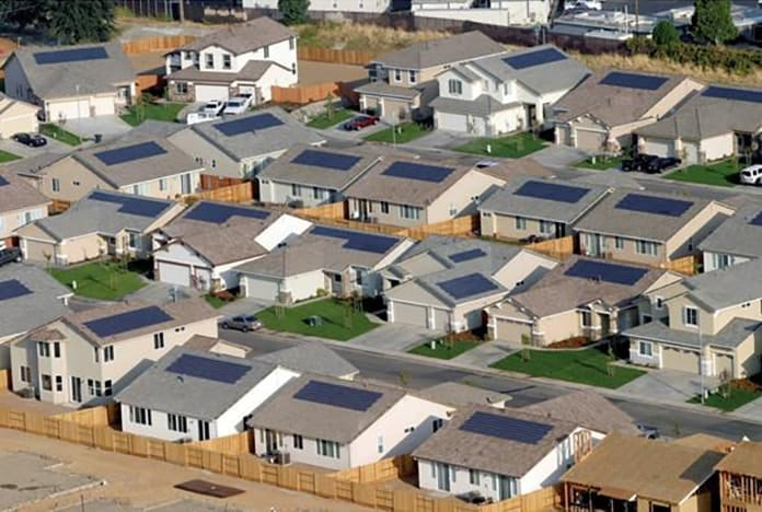Solar Rooftops in California