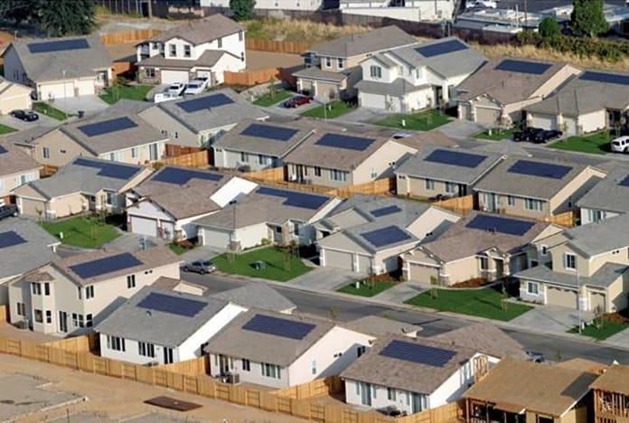 Solar Rooftops in California