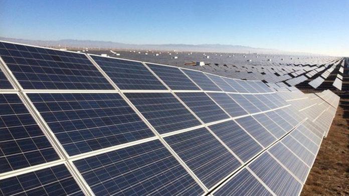 Qinghai Solar Power Field