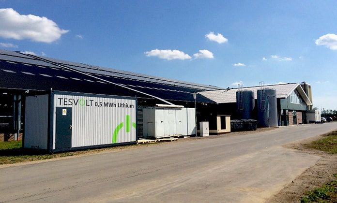 Tesvolt is a specialist in commercial storage systems