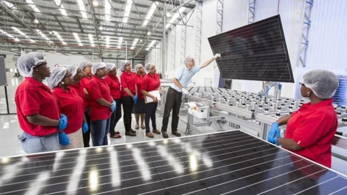 Solar Manufacturing Plant in Durban