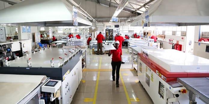 Solar Manufacturing Plant in Kenya