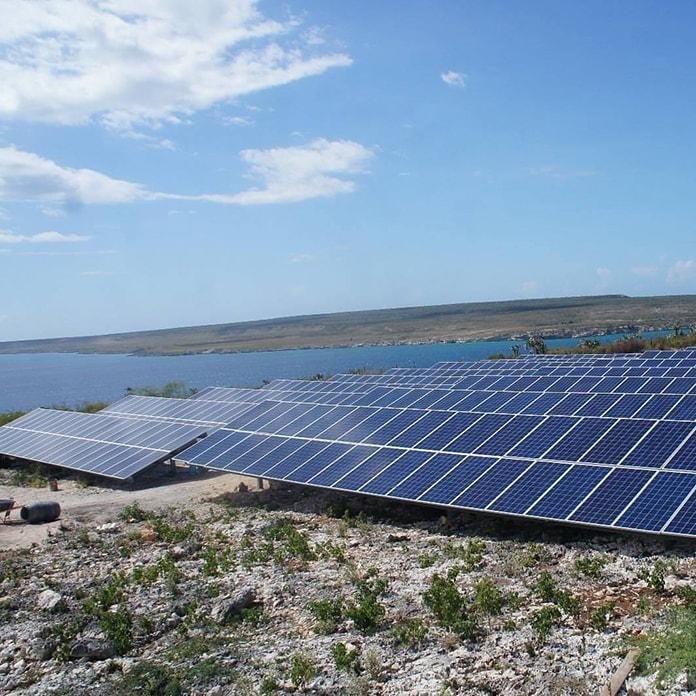 Sigora Haiti PV array