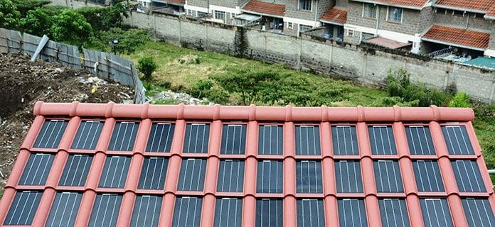 Strauss Energy Solar BIPV Roof in Kenya