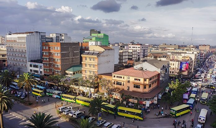 Nairobi - One of Africa's Fast Urbanizing Cities