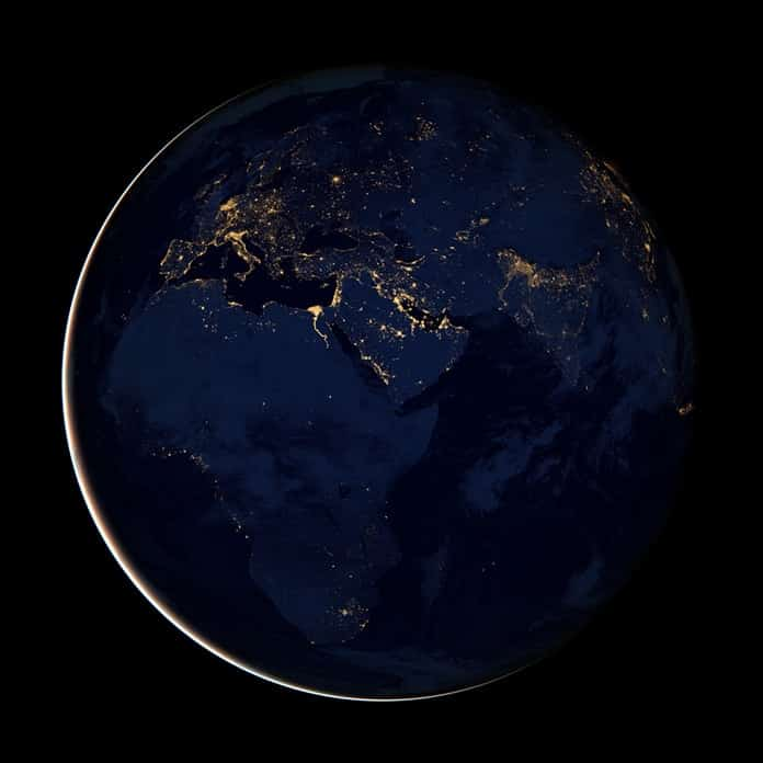 Lights Out - Africa at Night Seen From Space