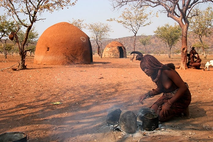Traditional Cooking in Namibia