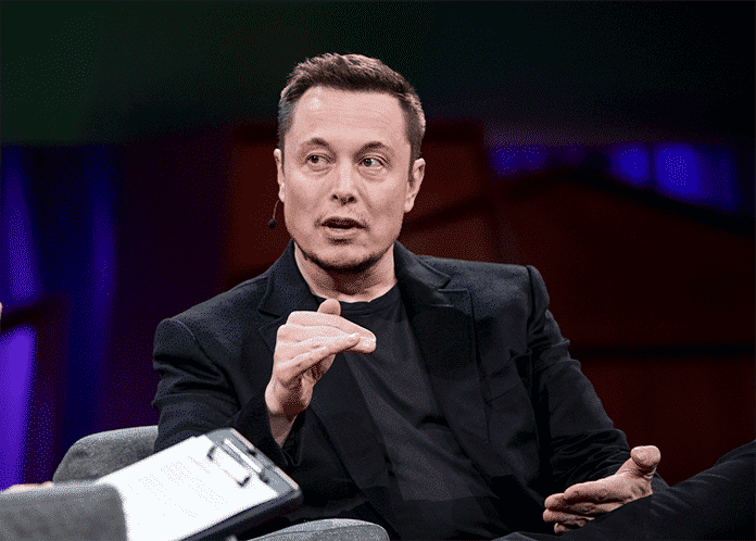 Elon Musk Speaks at the TED Conference in Vancouver Canada