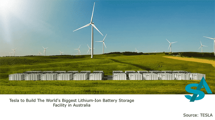 Lithium-Ion Battery Facility at Jamestown, South Australia