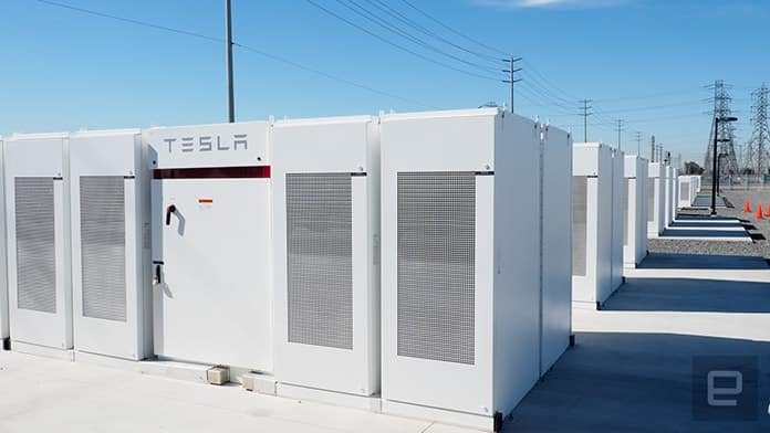 Tesla Powerpack Installation
