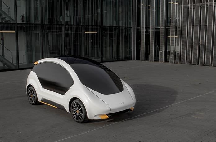 Amber's Experimental Solar Car