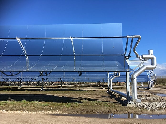 CSP Mirror Troughs at Brønderslev Plant in Denmark - Picture 1