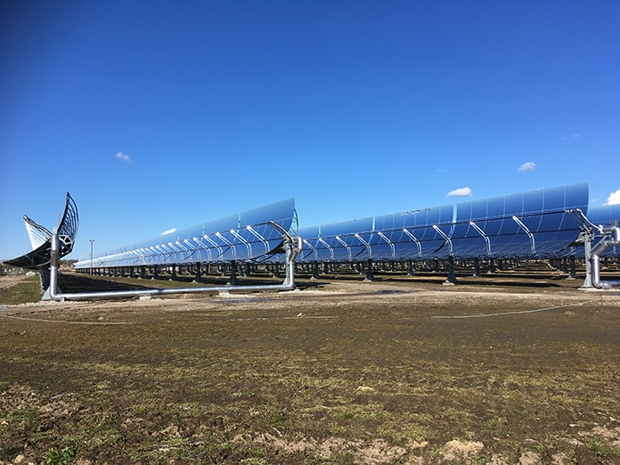 CSP Mirror Troughs at Brønderslev Plant in Denmark - Picture 2