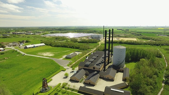 Overview of Reflective CSP Mirror Field at Brønderslev Project in Denmark