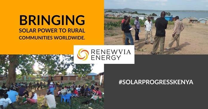 Renewvia Energy Solar Progress