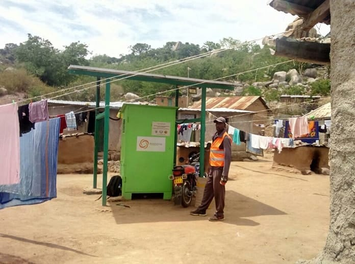 One of Renewvia's Rural Electrification Projects in Kenya