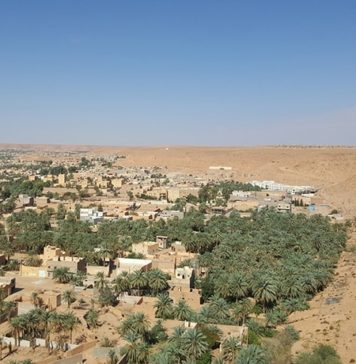Sahara Desert Solarification Process