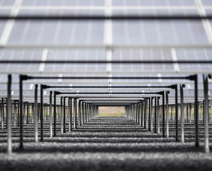 Solar PV Field Ground Level