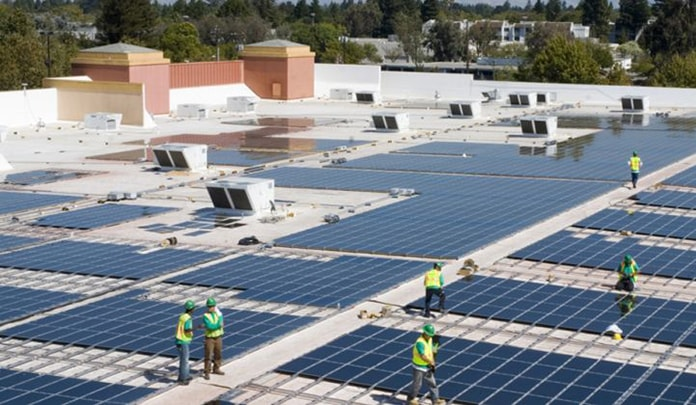 Tesla SolarCity Commercial Rooftop PV