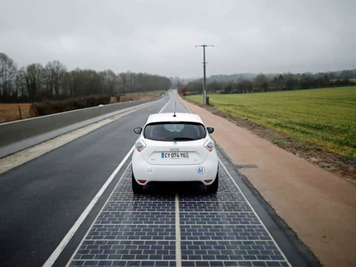 The World's First Solar Highway in France