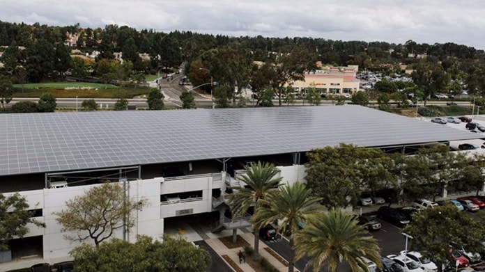 Solar Panels at Carmel Valley Kilroy Centre