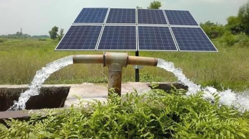 Solar-Powered Water Irrigation in Africa
