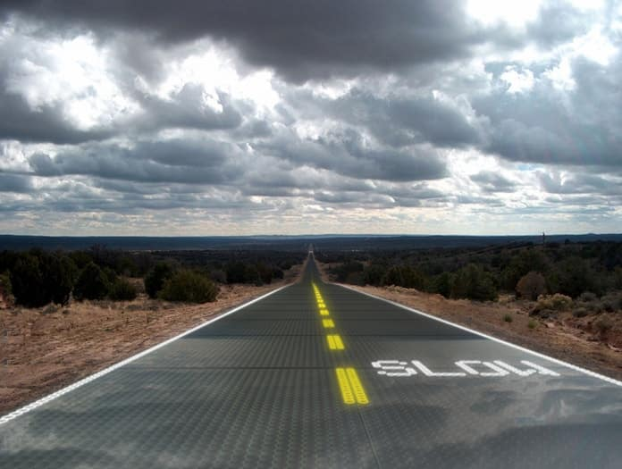 Solar-Powered Roadways by Scott Brusaw