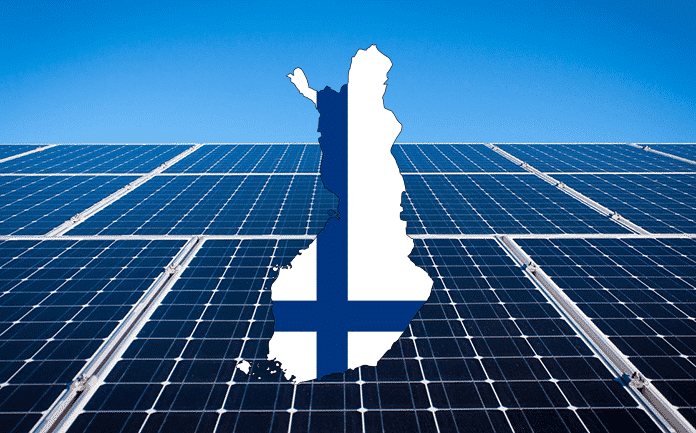 Finland Uses Solar-Clean Energy in Industrial District