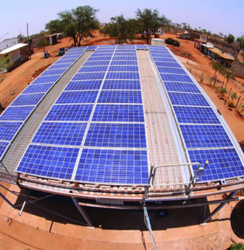 Developing-World Solar Mini-Grid in Kenya