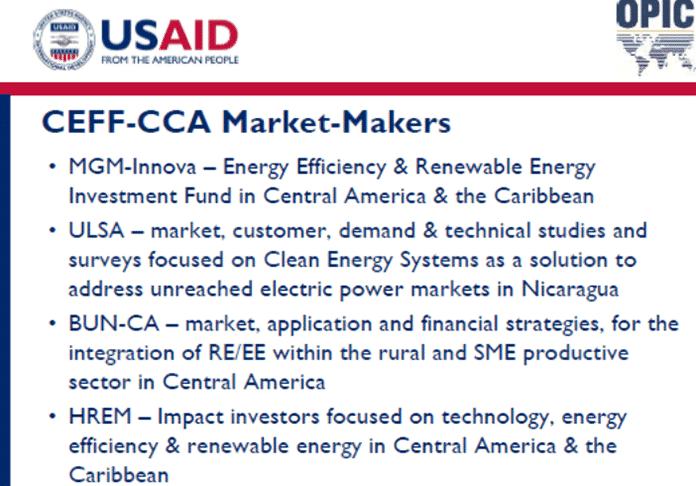 CEFF-CCA Market-Makers